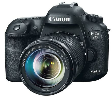 Canon EOS 7D Mark II + 18-135 mm IS STM