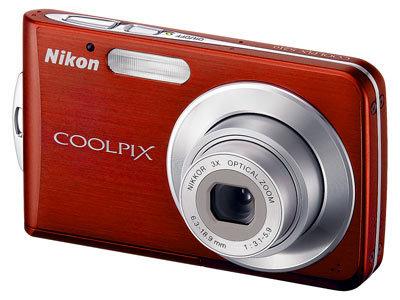 Nikon CoolPix S210 červený