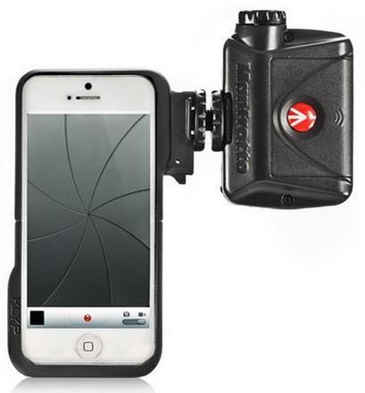 Manfrotto stativový obal KLYP + LED světlo ML240 pro iPhone 5