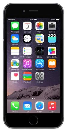 Apple iPhone 6 16GB stříbrný