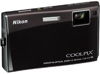 Nikon Coolpix S60 černý