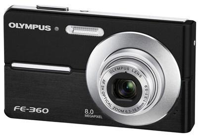 Olympus FE-360 černý