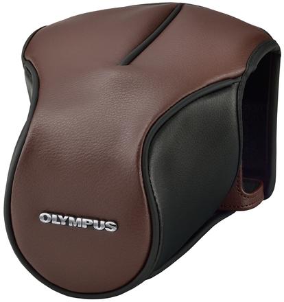 Olympus kožené pouzdro CS-46FBC hnědé