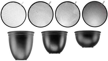 Hensel Honeycomb Grid and Reflector Set