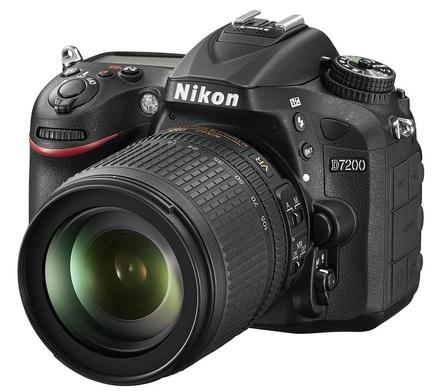 Nikon D7200 + 18-105 mm VR