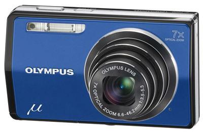 Olympus Mju 7000 modrý