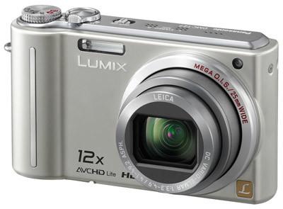 Panasonic Lumix DMC-TZ7 stříbrný