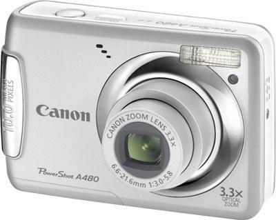 Canon PowerShot A480 stříbrný