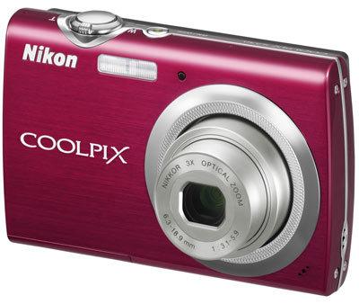 Nikon CoolPix S230 červený