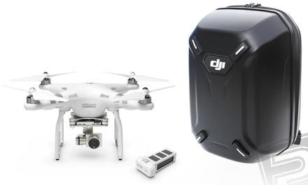 DJI kvadrokoptéra Phantom 3 Advanced + náhradní akumulátor + skořepinový batoh!