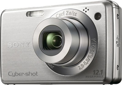 Sony CyberShot DSC-W230 stříbrný