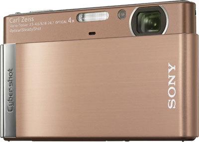 Sony CyberShot DSC-T90 hnědý