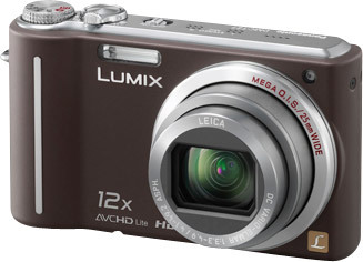 Panasonic Lumix DMC-TZ7 hnědý