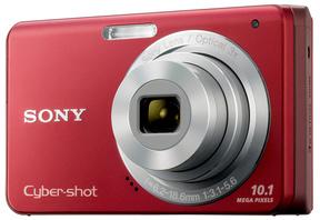 Sony CyberShot DSC-W180 červený