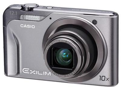 Casio EXILIM H10 stříbrný