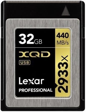 Lexar XQD 32GB 2933x Professional
