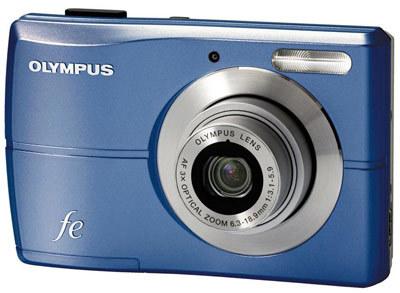 Olympus FE-26 modrý