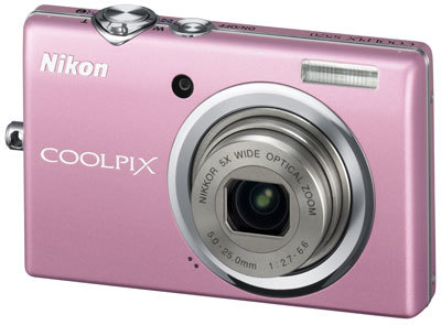 Nikon CoolPix S570 růžový