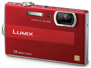 Panasonic Lumix DMC-FP8 červený