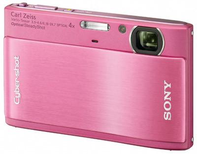 Sony CyberShot DSC-TX1 růžový