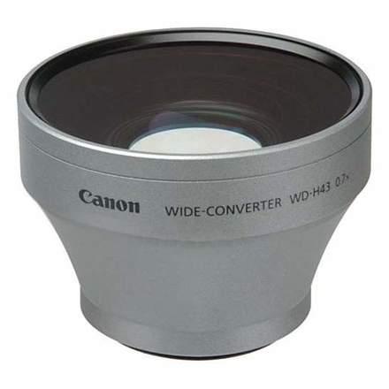 Canon širokoúhlá předsádka WD-H43