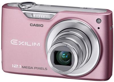 Casio EXILIM Z450 růžový