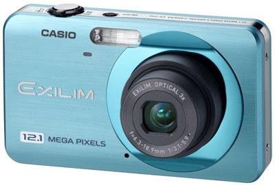 Casio EXILIM Z90 modrý