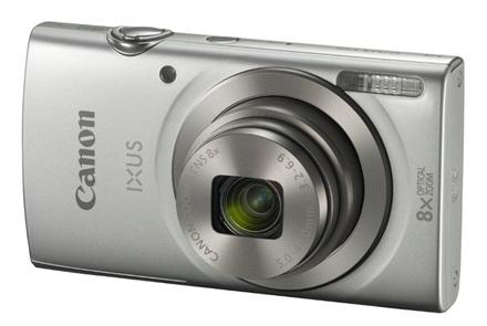 Canon IXUS 175 stříbrný + 16GB karta + pouzdro 60G + ministativ + čisticí utěrka!