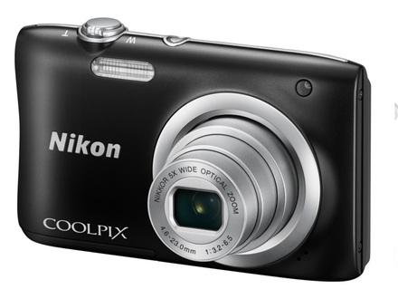 Nikon Coolpix A100 černý + 16GB karta + pouzdro 70G + ministativ + čisticí utěrka!