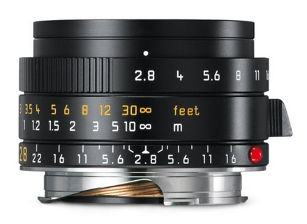 Leica 28mm f/2,8 ASPH ELMARIT-M verze 2016