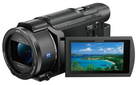 Sony FDR-AX53 + 64GB karta + originální brašna + akumulátor + stativ!