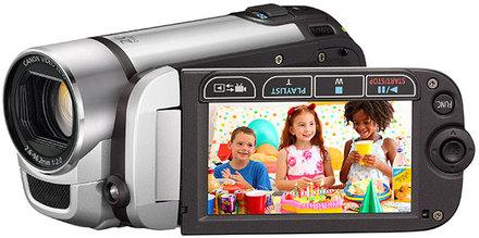 Canon LEGRIA FS306 stříbrná