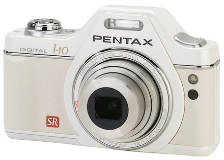 Pentax Optio I-10 bílý