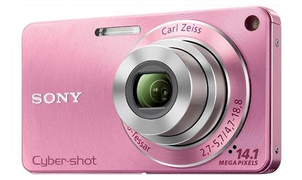 Sony CyberShot DSC-W350 růžový