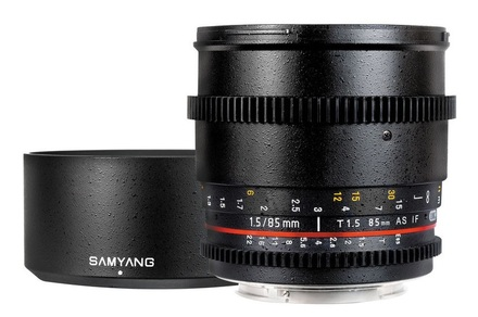Samyang 85mm T/1,5 VDSLR pro Nikon