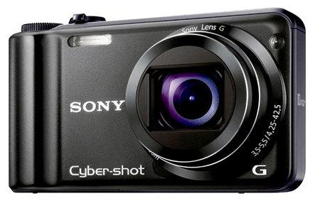Sony CyberShot DSC-H55 černý + 4GB karta  zdarma!
