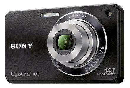 Sony CyberShot DSC-W360 černý