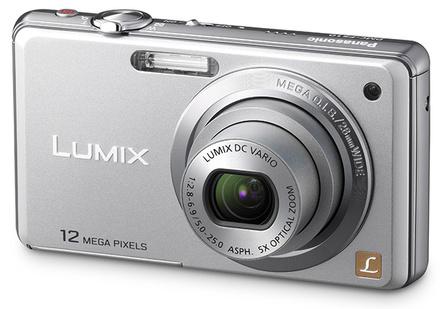 Panasonic Lumix DMC-FS10 stříbrný