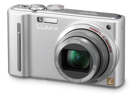 Panasonic Lumix DMC-TZ8 stříbrný