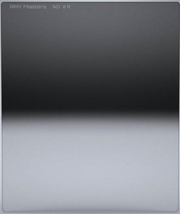 Ray Masters 84x100mm ND 8 filtr 0,9 reverzní