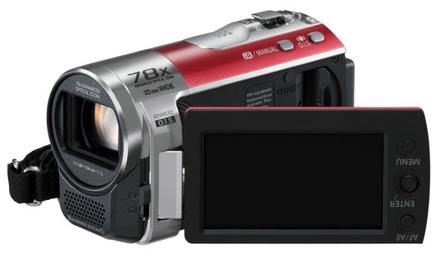 Panasonic SDR-S50 červená