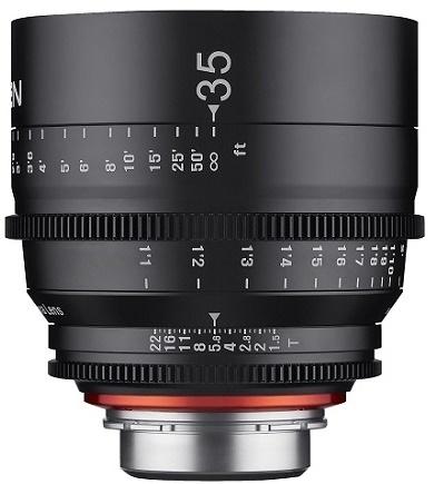 Samyang XEEN CINE 35mm T/1,5 pro Canon EF