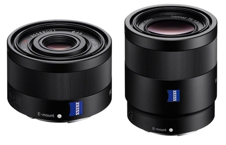 Sony FE 35mm f/2.8 ZA Sonnar T +  FE 55mm f/1,8 ZA Sonnar T!