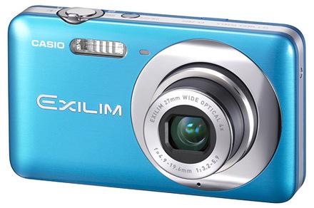 Casio EXILIM Z800 modrý