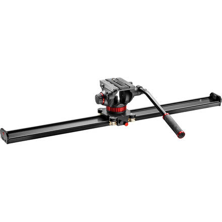 Manfrotto VIDEO SLIDER 100cm s video hlavou 502AH