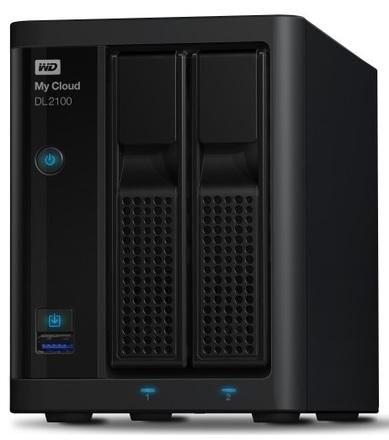 """Western Digital My Cloud DL2100 12TB (2x6TB), 3.5"""" NAS, černý"""