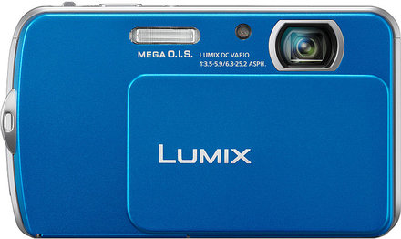 Panasonic Lumix DMC-FP5 modrý