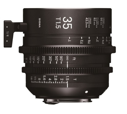 Sigma CINE 35mm T/1,5 pro Sony E