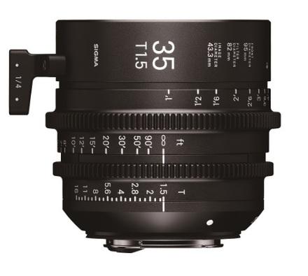 Sigma CINE 35mm T/1,5 pro Canon