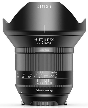 IRIX 15mm f/2,4 verze Blackstone pro Pentax